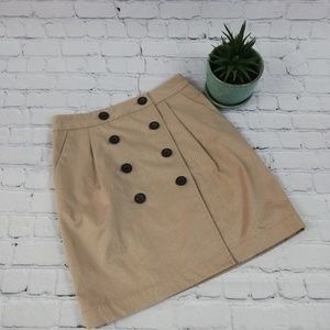 Club Monaco Skirt Size 2 Biege